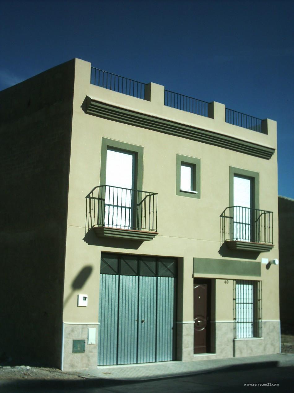 Construcci n de promoci n unifamiliar servycon21 for Coste construccion vivienda unifamiliar