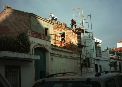 Rehabilitación de casa familiar