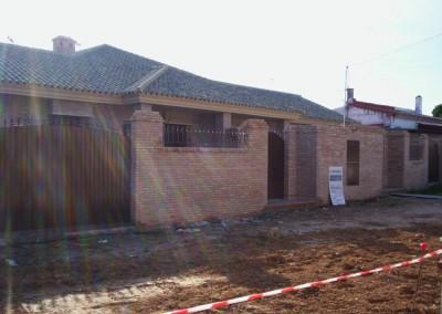 Construcción de 2 viviendas y piscinas